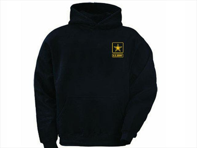 ee07a1f53bb1 US army hoodies - My Cool T-Shirt - US army emblem silk printed ...